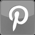 Pinterest Icon Gray